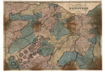 Plan of the Environs of Edinburgh.