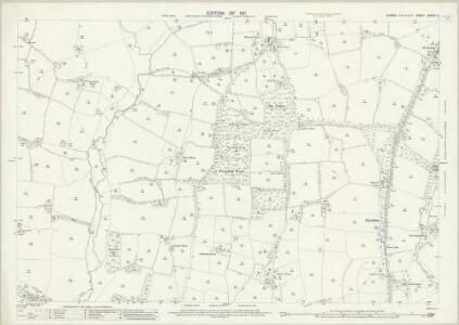 Sussex XXXVIII.2 (includes: Cowfold; Shermanbury) - 25 Inch Map