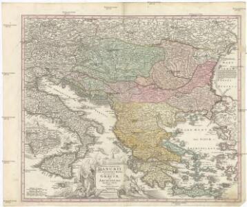 Fluviorum in Europa principis DANUBII