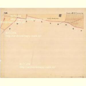 Grussbach - m0920-1-013 - Kaiserpflichtexemplar der Landkarten des stabilen Katasters