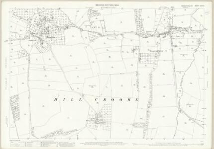 Worcestershire XLVIII.5 (includes: Defford; Earls Croome; Hill Croome; Ripple; Strensham) - 25 Inch Map
