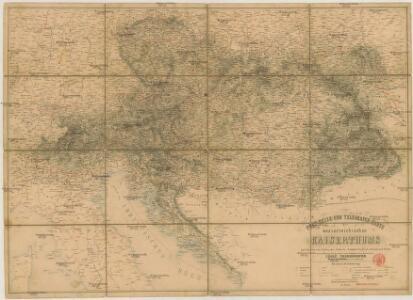Post-Reise-und Telegrafen-Karte des oesterreichischen Kaiserthums