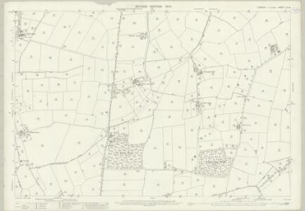 Suffolk LV.16 (includes: Brettenham; Buxhall; Hitcham; Rattlesden) - 25 Inch Map