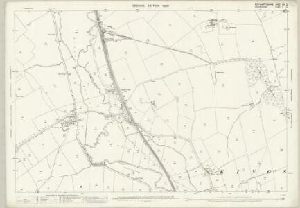 Northamptonshire LXII.2 (includes: Bodicote; East Adderbury; Kings Sutton; Warkworth) - 25 Inch Map