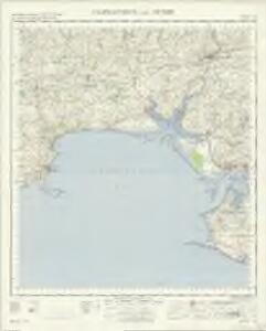 Carnarthen And Tenby - OS One-Inch Map