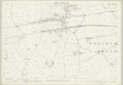 Essex (1st Ed/Rev 1862-96) XXV.13 (includes: Braintree and Bocking; Felsted; Rayne) - 25 Inch Map