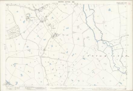 Cheshire XLVII.2 (includes: Bruen Stapleford; Foulk Stapleford; Waverton) - 25 Inch Map