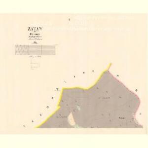Zataw - c9156-1-001 - Kaiserpflichtexemplar der Landkarten des stabilen Katasters