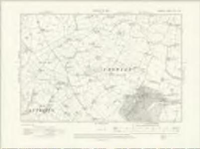 Cheshire XXVI.NW - OS Six-Inch Map