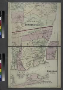 Babylon, Suffolk Co. - Commac, Town of Huntington, Suffolk Co.
