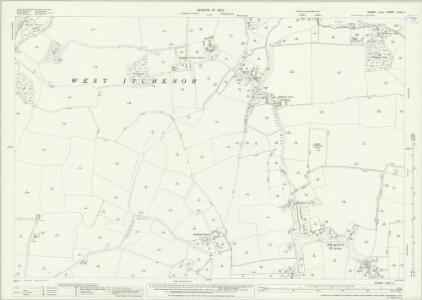 Sussex LXXII.4 (includes: Birdham; West Itchenor; West Wittering) - 25 Inch Map