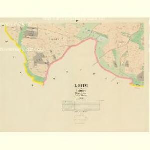 Lohm - c4213-1-004 - Kaiserpflichtexemplar der Landkarten des stabilen Katasters