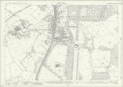 Hertfordshire XXXV.7 (includes: Bishops Hatfield) - 25 Inch Map