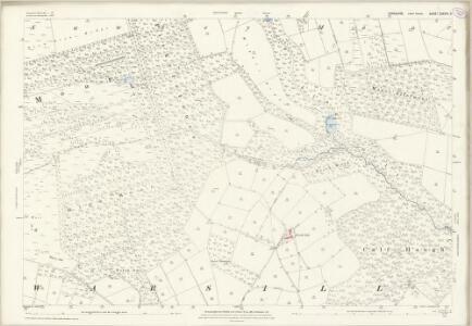 Yorkshire CXXXVI.3 (includes: Bishop Thornton; Sawley; Warsill) - 25 Inch Map