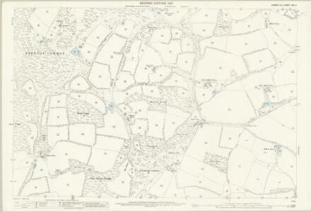 Sussex XXII.4 (includes: Kirdford; Petworth) - 25 Inch Map