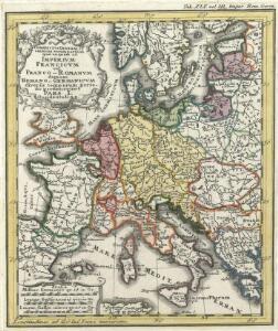 Conspectus Generalis omnium earum partium quae unquam ad Imperium Francicum vel Franco-Romanum demum Romano-Germanicum diversis temporum periodis pertinuerunt.