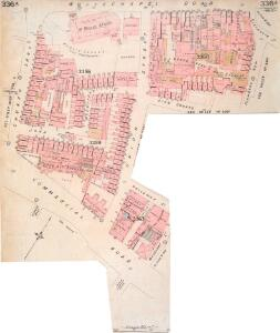 Insurance Plan of London Vol. XI: sheet 338-1