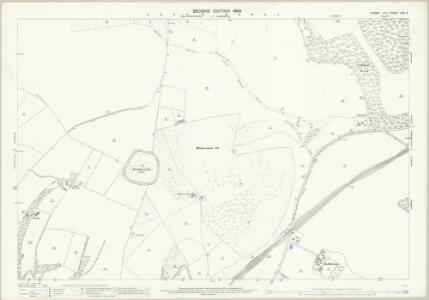 Sussex LXVI.2 (includes: Brighton; Falmer; Stanmer) - 25 Inch Map