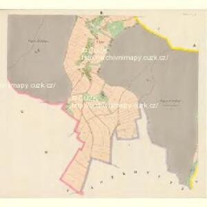 Studeney (Studeny) - c7502-1-003 - Kaiserpflichtexemplar der Landkarten des stabilen Katasters