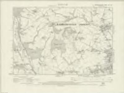 Worcestershire VIII.SW - OS Six-Inch Map