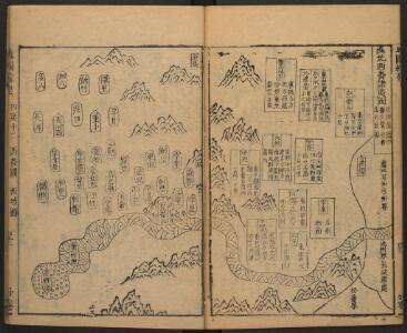 地圖綜要 : 三卷(遠北西番諸夷圖)