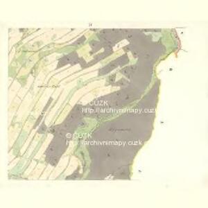 Rudelzau (Rudlawic) - m2640-1-004 - Kaiserpflichtexemplar der Landkarten des stabilen Katasters