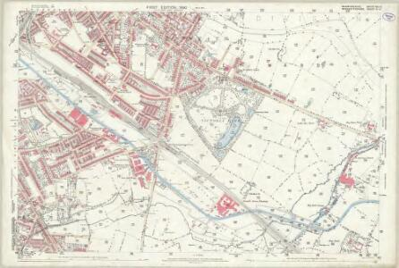 Warwickshire XIV.10 (includes: Birmingham) - 25 Inch Map