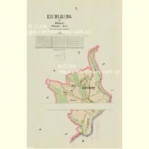 Eichlberg - c1596-2-001 - Kaiserpflichtexemplar der Landkarten des stabilen Katasters