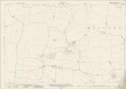 Essex (New Series 1913-) n XXIII.9 (includes: Farnham; Furneux Pelham; Manuden) - 25 Inch Map