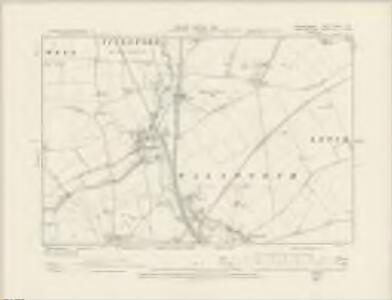 Bedfordshire XXVII.SW - OS Six-Inch Map