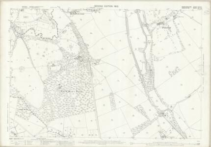 Staffordshire XXVIII.1 (includes: Market Drayton; Sutton Upon Tern; Tyrley) - 25 Inch Map