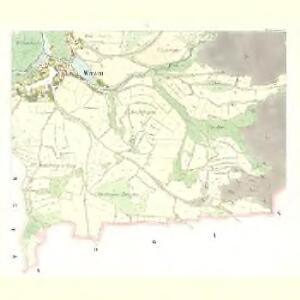 Wrczen (Wrčen) - c8843-1-004 - Kaiserpflichtexemplar der Landkarten des stabilen Katasters