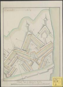 [Plan voor aanpassing van de vesting Maastricht aan de noordzijde van de Maas volgens het Project van Colonel C. Du Moulin]