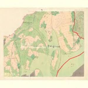 Alt Hrosenkau (Stary Hrasenkow) - m2868-1-008 - Kaiserpflichtexemplar der Landkarten des stabilen Katasters