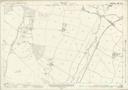 Oxfordshire XIV.13 (includes: Adlestrop; Churchill; Cornwell; Kingham; Salford) - 25 Inch Map