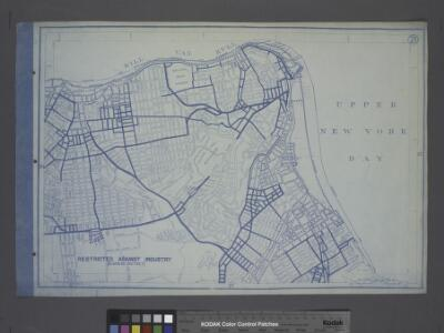 Use District Map Section No. 21; Use district map / City of New York, Board of Estimate and Apportionment.