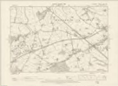 Cheshire XXXIII.SE - OS Six-Inch Map