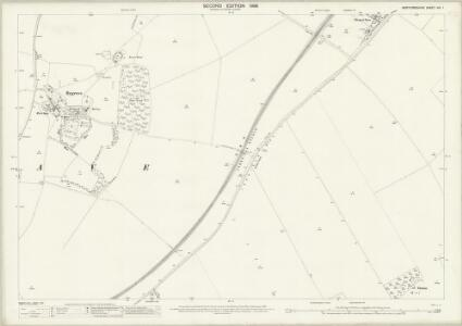 Hertfordshire VIII.1 (includes: Ashwell; Bygrave; Wallington) - 25 Inch Map