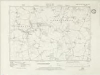 Essex nXVII.SW - OS Six-Inch Map