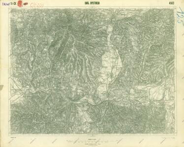 III. vojenské mapování 4562