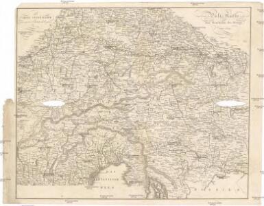Carte itinéraire pour servir a l'histoire de la guerre de 1809