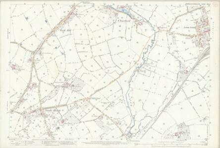 Worcestershire XXII.4 (includes: Bromsgrove; Dodford With Grafton; Stoke Prior; Upton Warren) - 25 Inch Map