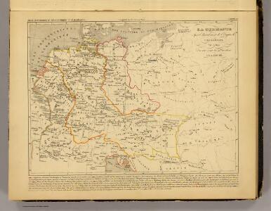 La Germanie 741 a 843.