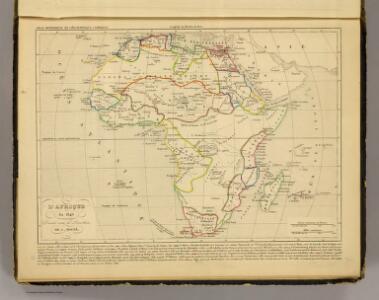 L'Afrique en 1840.