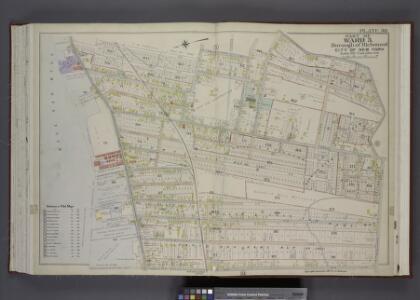 Part of Ward 3. [Map bound by Johnson Ave, Innis St,  Grant St, Sherman Ave, Prospect St, Richmond Ave, Washington Ave, Van Pelt Ave,  Pier & Bulkhead Line 1881]