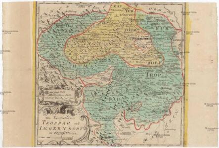 Die Fürstenthümer Troppau und Iaegerndorf in Ober-Schlesien