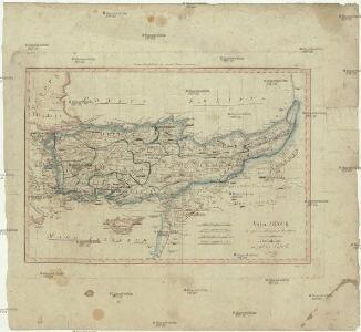 Asia minor in usum scholarum descripta