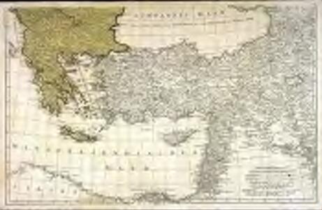 Dritter Theil der Karte von Europa welcher das südliche Russland Polen und Ungarn die europæische, und beinahe die ganze asiatische Türkei enthælt, 2