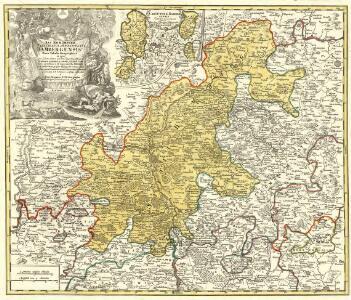 Sac. Rom. Imperii Principatus & Episcopatus Bambergensis Nova Tabula Geographica