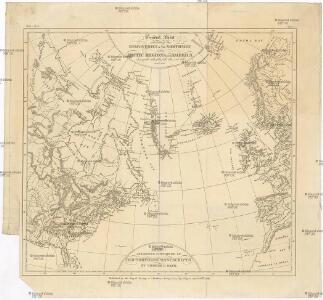 General chart exhibiting the discoveries of the Northmen in the arctic regions and America during the 10th., 11th., 12th., 13th., and 14th., centuries.